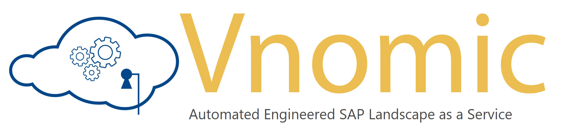 Vnomic Logo - Engineered SAP Landscape as a Service